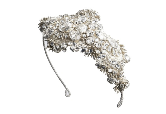 Jenny Packham Wedding Accessories Spring 14 Bridal Cadeaux headband
