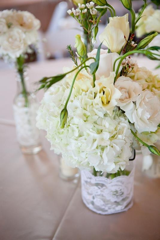 Wedding flowers from Asheville Event Co.