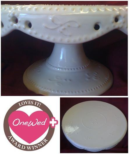 photo of Savvy Steals Weekly Giveaway- Put Your Wedding Cake on a Pedestal!