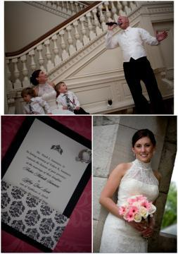 photo of Featured Wedding: Amber and Jeff