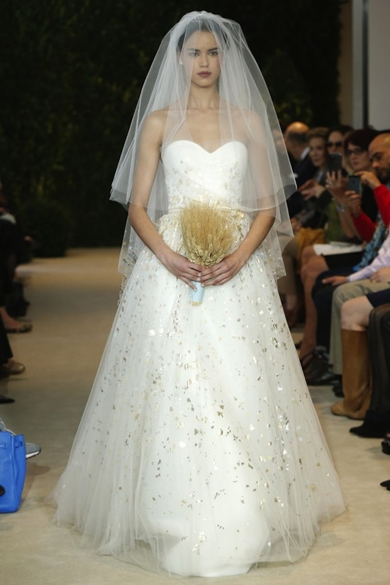 Spring 2014 Wedding Dress Bridal by Carolina Herrera