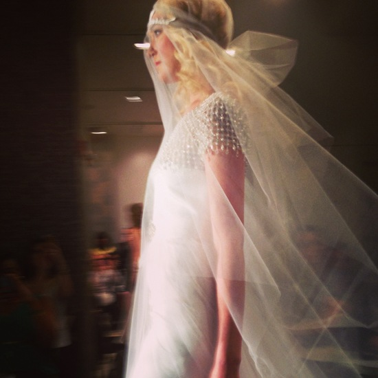photo of Reem Acra 2014 bridal runway shot