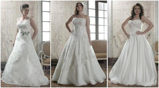 photo of Plus Size Female Form- Because Every Girl Deserves Her Dream Wedding Dress