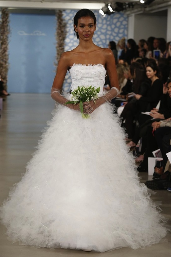 Oscar de la Renta Spring 2014 Wedding Dress