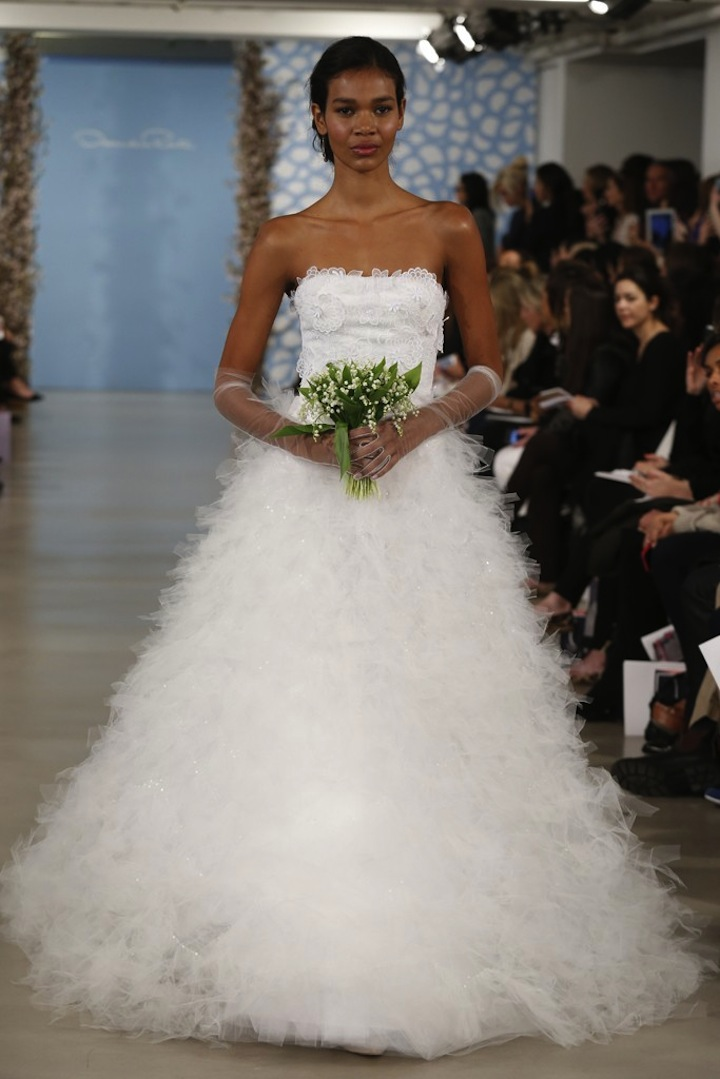 Oscar de la renta spring 2014 wedding dress for Oscar dela renta wedding dress