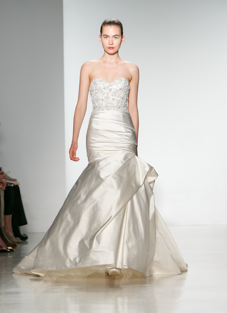 photo of Kenneth Pool Spring 2014 Wedding Dress