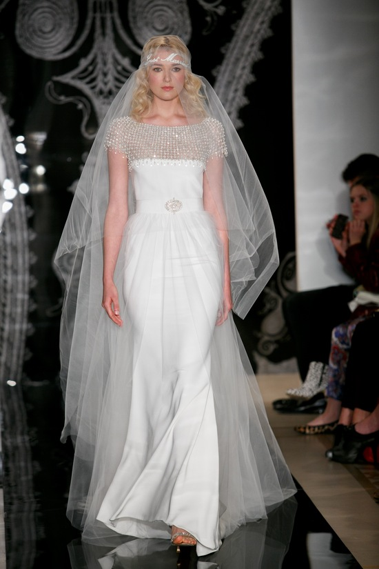 Reem Acra Spring 2014 Wedding Dress