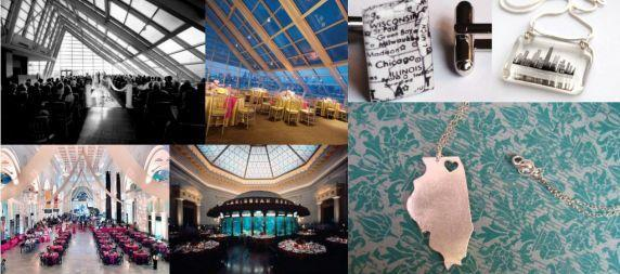 Chicago museums, like the Planetarian or Shedd Aquarium, are perfect wedding venues