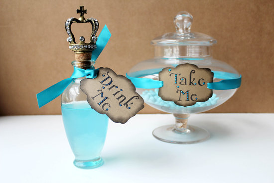 alice in wonderland wedding bar accents