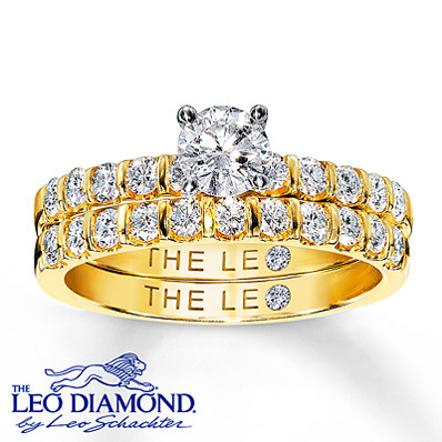 Kay-jewelers-diamond-bridal-set-1-ct-tw-round-cut-14k-yellow-gold-rings.full
