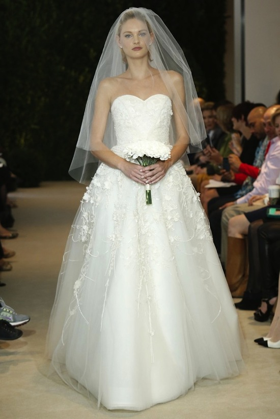 Carolina Herrera Wedding Dress Spring 2014 Bridal 30
