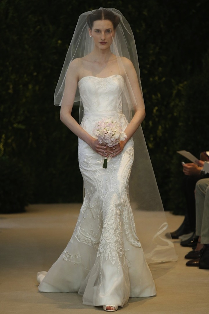 Carolina Herrera Wedding Dress Spring 2014 Bridal 28