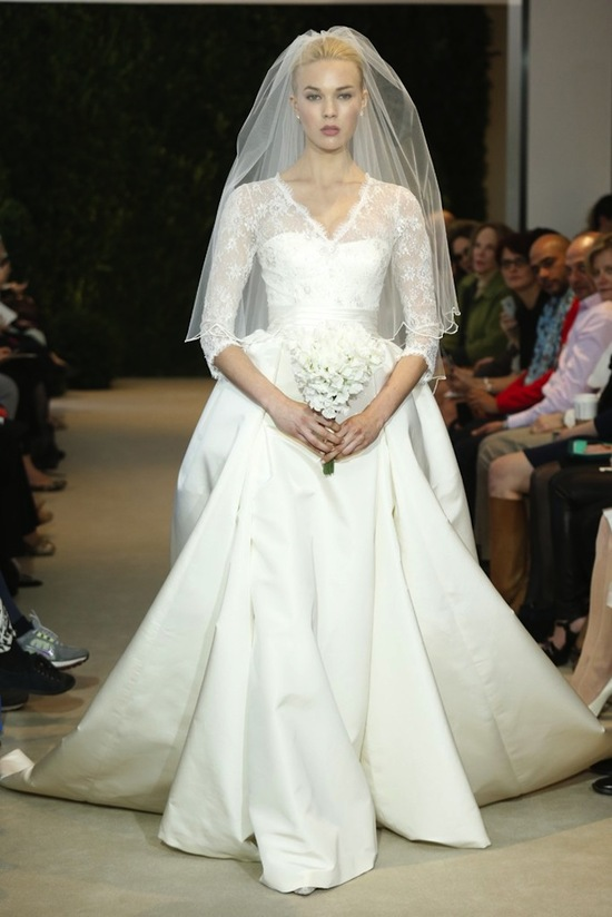 Carolina Herrera Wedding Dress Spring 2014 Bridal 27
