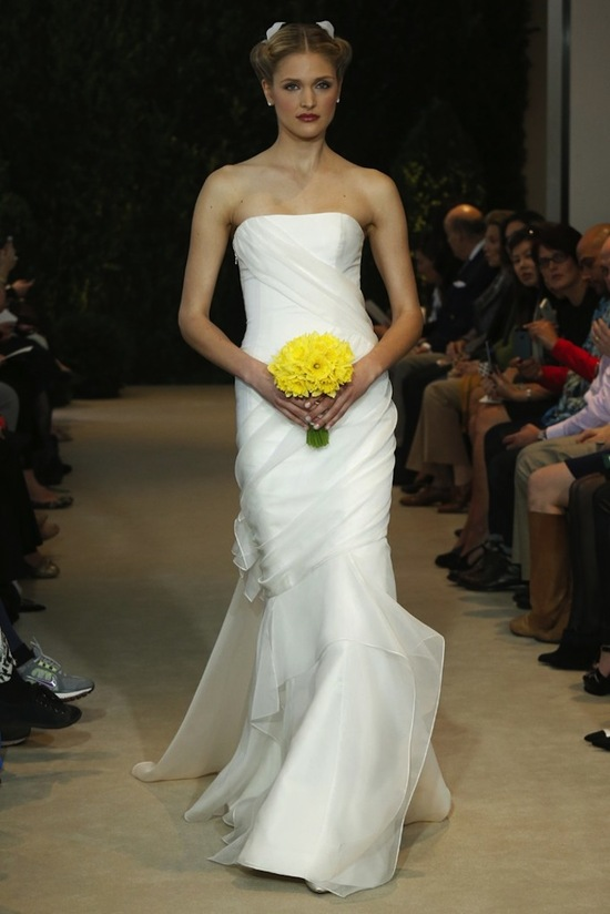 Carolina Herrera Wedding Dress Spring 2014 Bridal 25