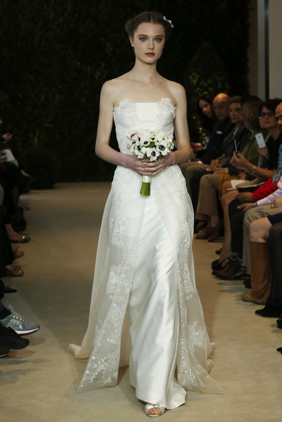 Carolina Herrera Wedding Dress Spring 2014 Bridal 22