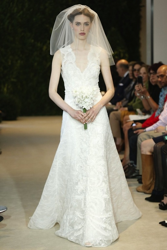 Carolina Herrera Wedding Dress Spring 2014 Bridal 21