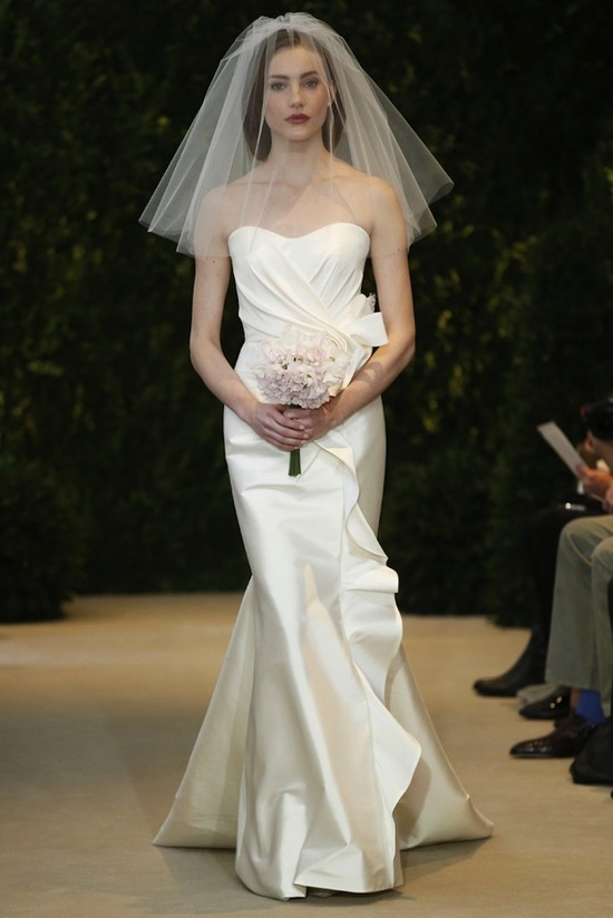 Carolina Herrera Wedding Dress Spring 2014 Bridal 20
