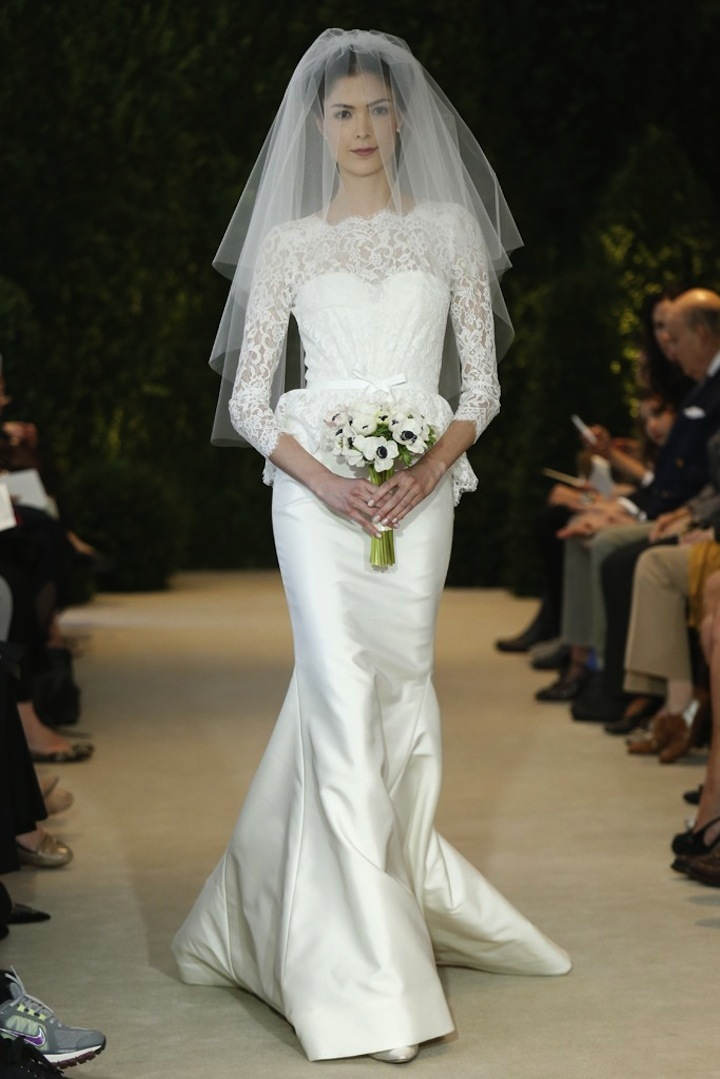 Carolina Herrera Wedding Dress Spring 2014 Bridal 16