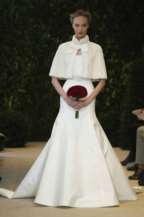 Carolina Herrera Wedding Dress Spring 2014 Bridal 15