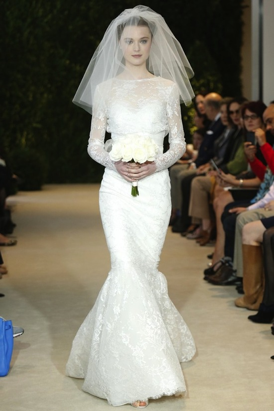 Carolina Herrera Wedding Dress Spring 2014 Bridal 8