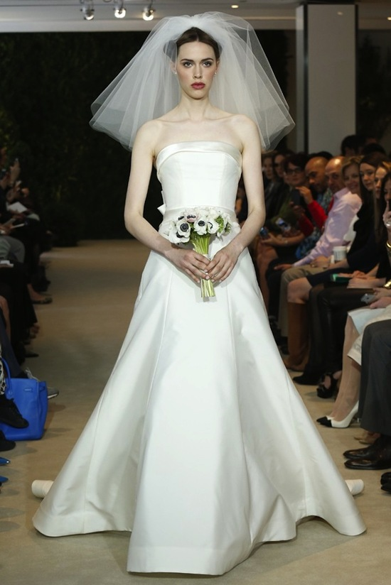 Carolina Herrera Wedding Dress Spring 2014 Bridal 7