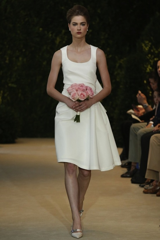 Carolina Herrera Wedding Dress Spring 2014 Bridal 6