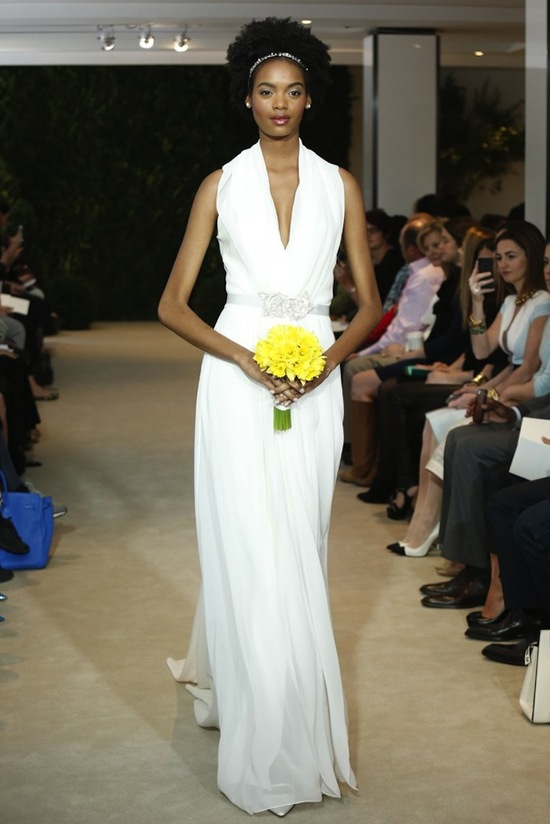 Carolina Herrera Wedding Dress Spring 2014 Bridal 4