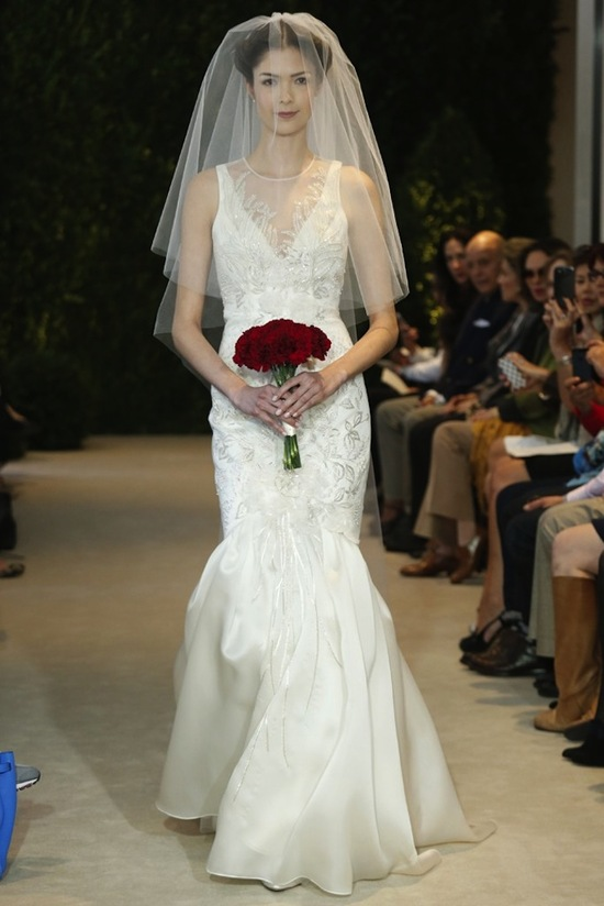 Carolina Herrera Wedding Dress Spring 2014 Bridal 2