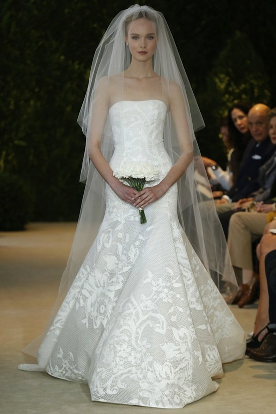 Carolina Herrera Wedding Dress Spring 2014 Bridal