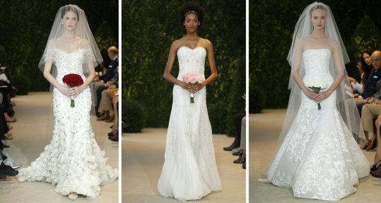 Carolina Herrera Bridal Spring 2014 Wedding Dresses 3