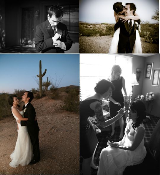 photo of Featured Wedding: Gabe and April