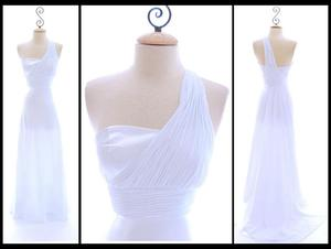 photo of Gorgeous Vintage-Inspired One Shoulder Wedding Dress for $98?