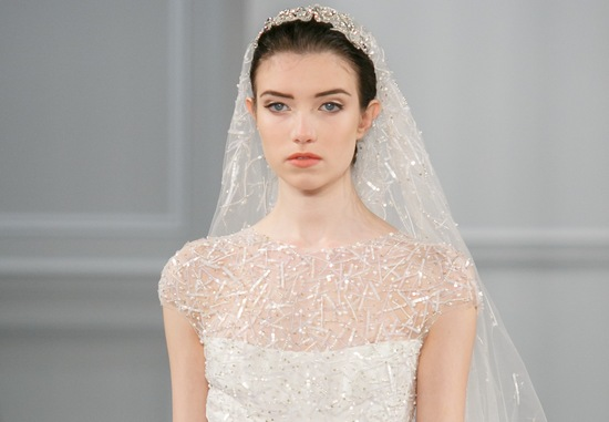 Wedding hair makeup trends for 2014 Monique Lhuillier
