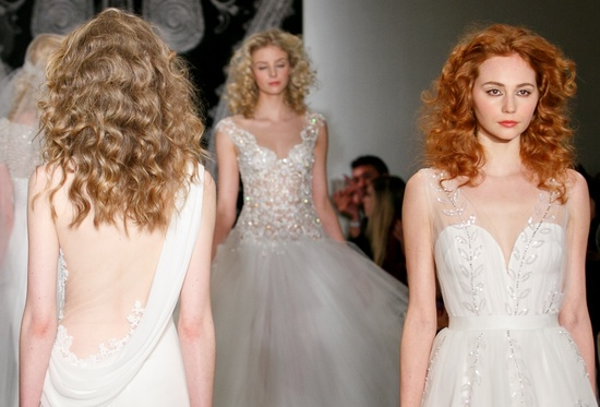 Wedding Hair and Makeup Trends 2014 Bridal Reem Acra 4