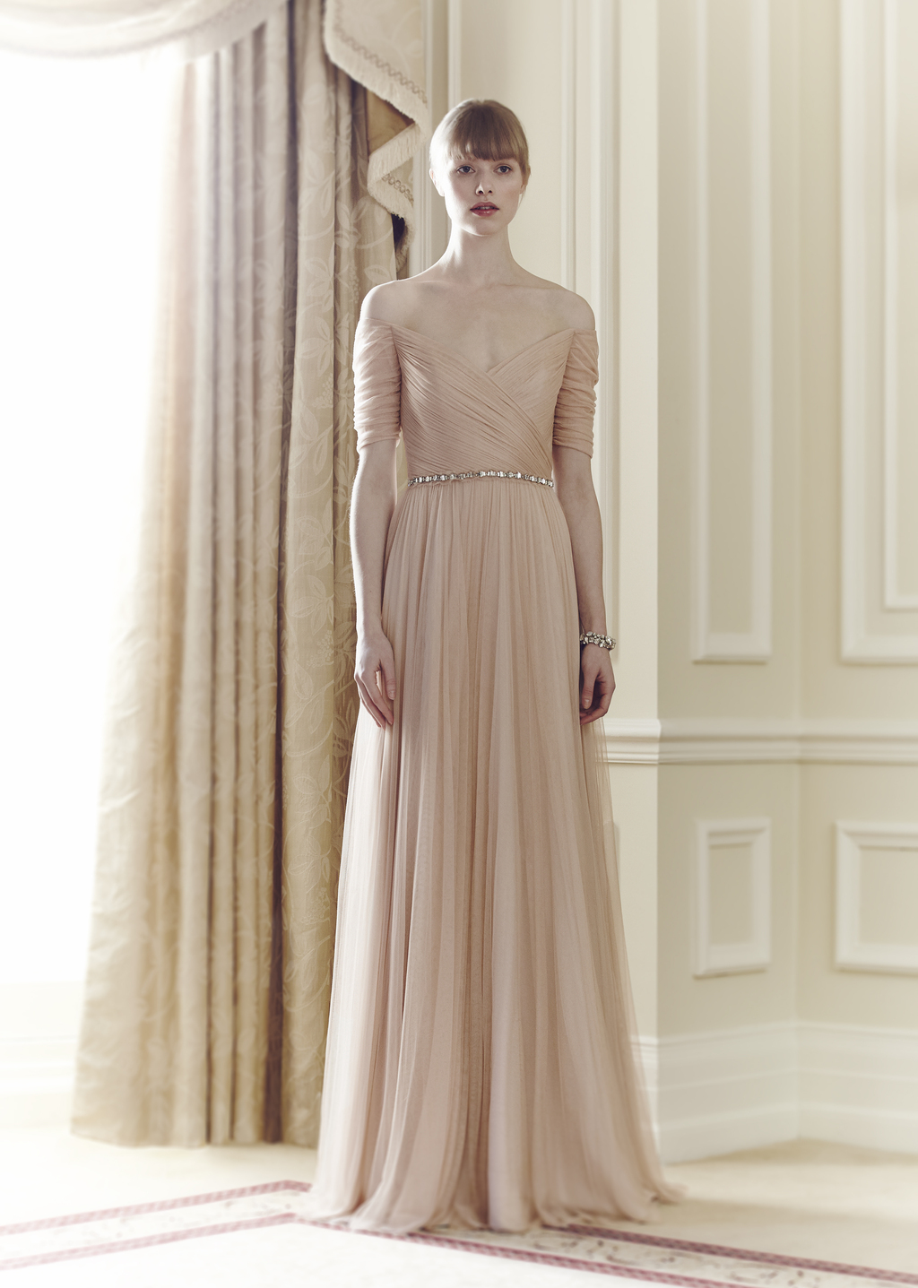 Jenny Packham Bridal Collection Spring Summer 2014 Belle Magnolia
