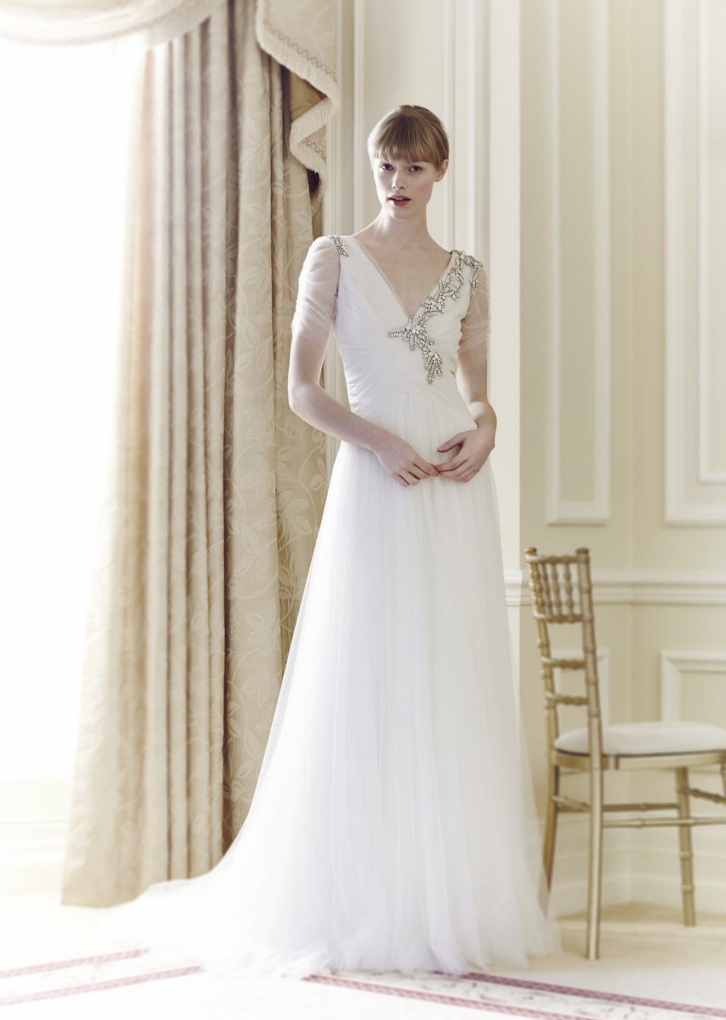 Jenny Packham Bridal Collection Spring Summer 2014 Amour