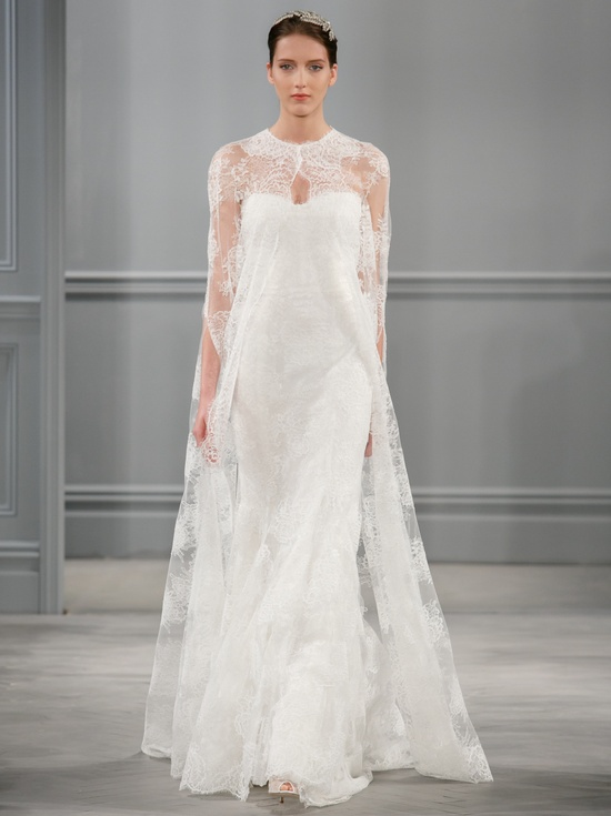 Spring 2014 Wedding Dress Monique Lhuillier Bridal Sandrine
