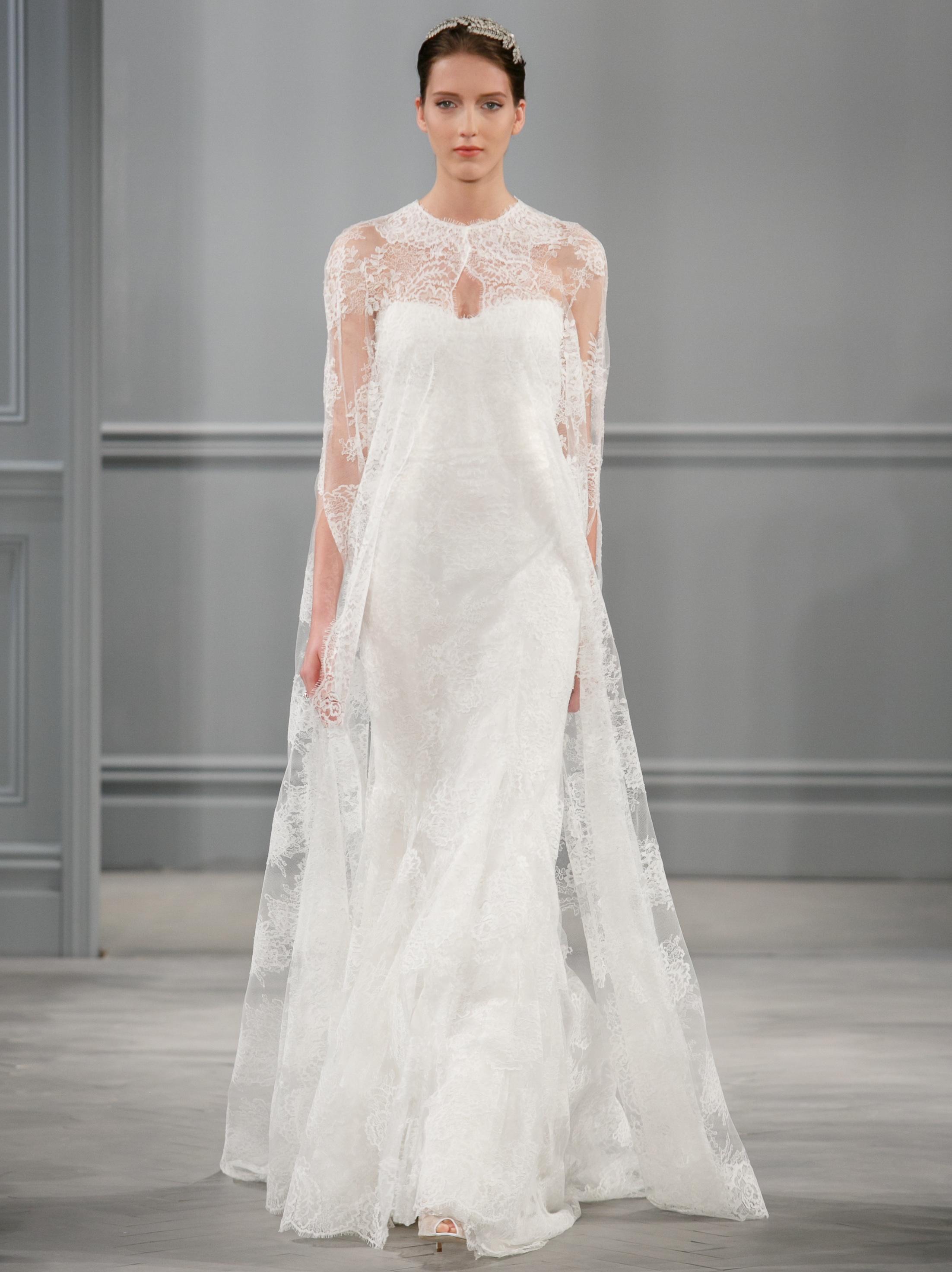Spring 2014 wedding dress monique lhuillier bridal for Monique lhuillier brooke wedding dress