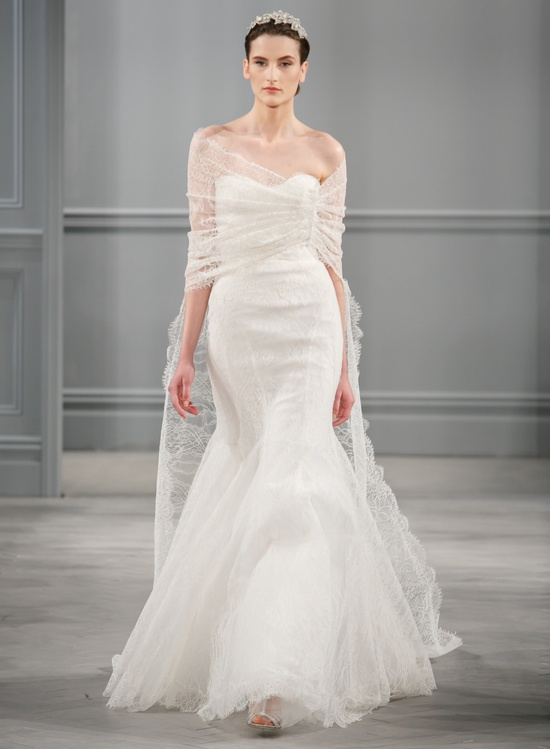 Spring 2014 Wedding Dress Monique Lhuillier Bridal Intrigue
