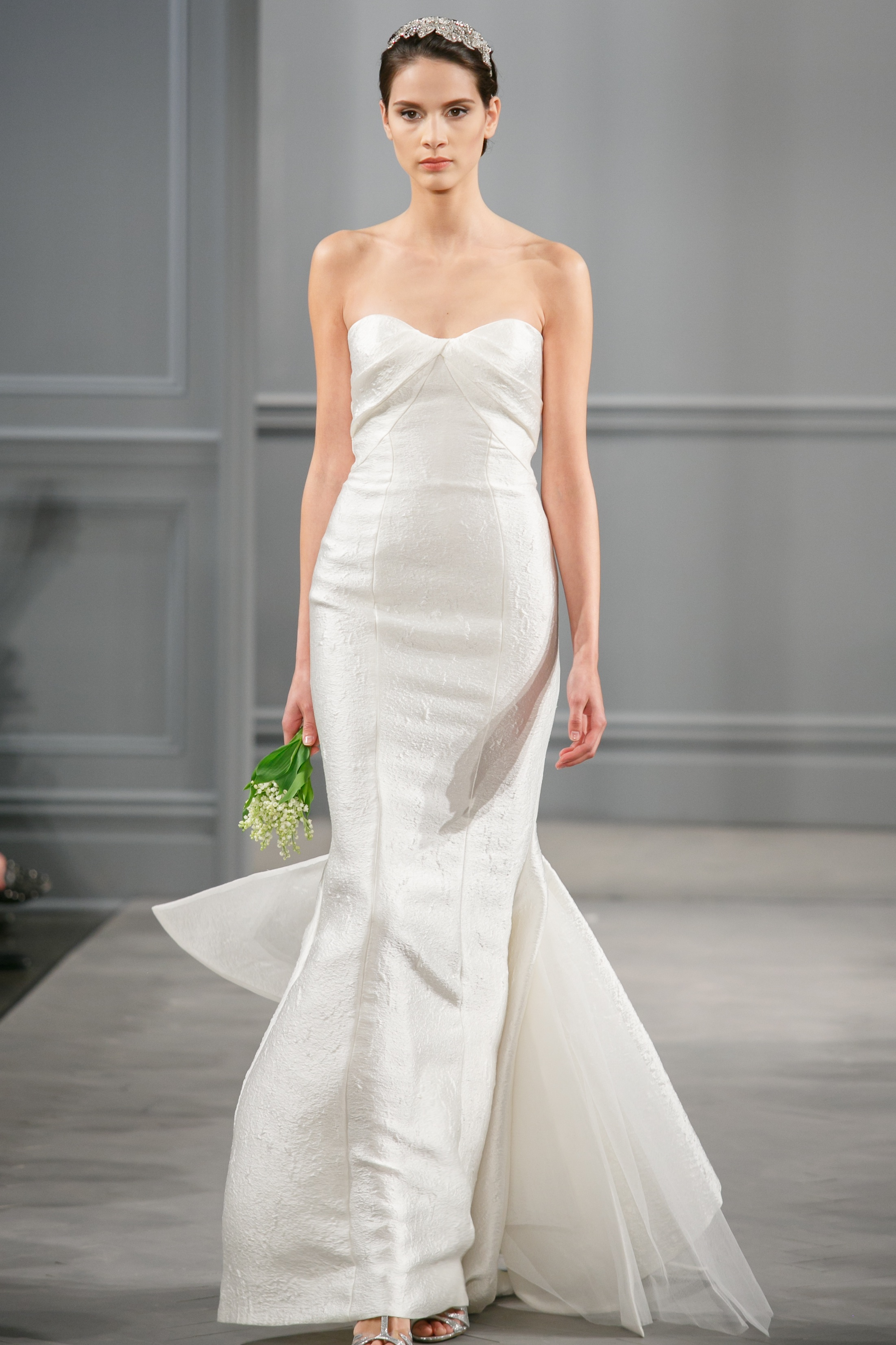 Spring 2014 wedding dress monique lhuillier bridal isla for Monique lhuillier wedding dress