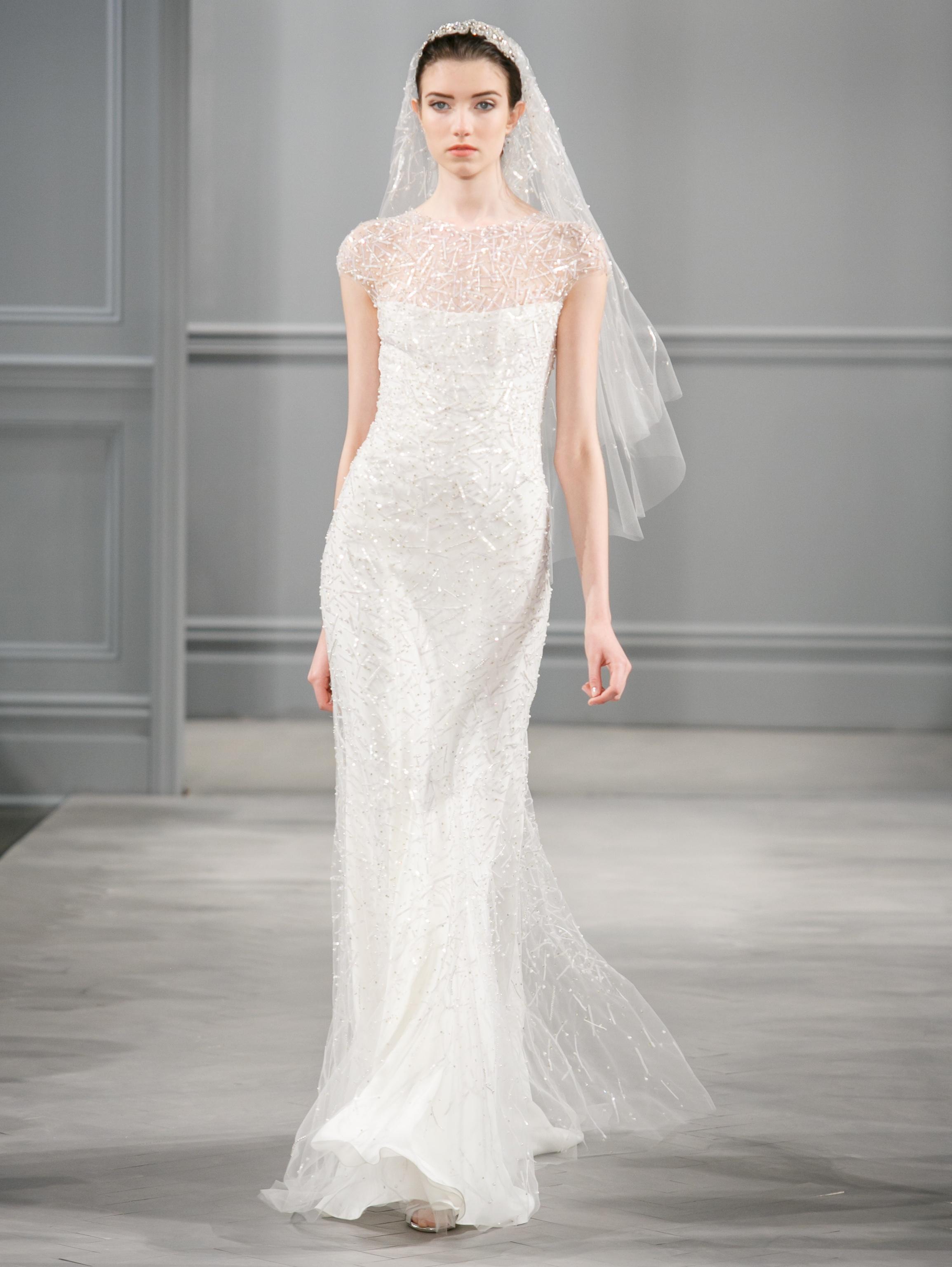 Spring 2014 wedding dress monique lhuillier bridal for Buy monique lhuillier wedding dress
