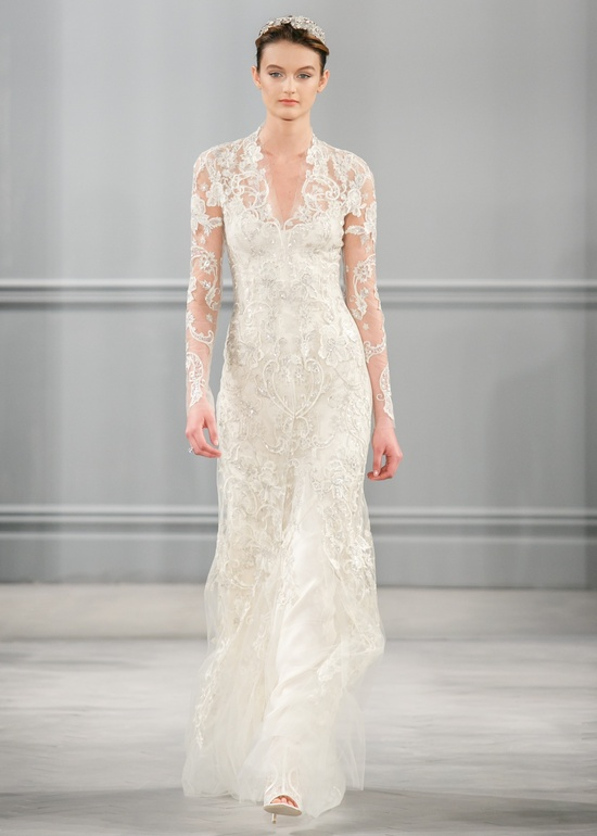 Spring 2014 Wedding Dress Monique Lhuillier Bridal Clementine