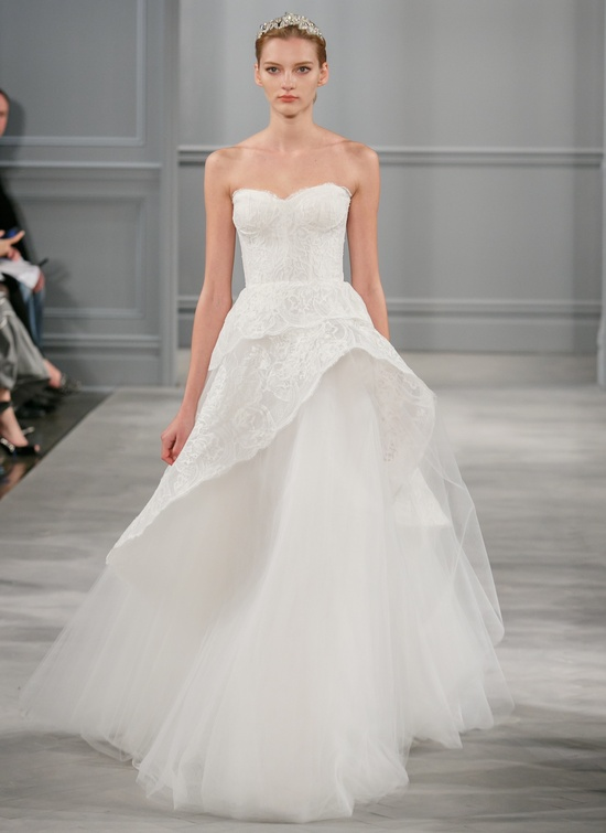 Spring 2014 Wedding Dress Monique Lhuillier Bridal Azure