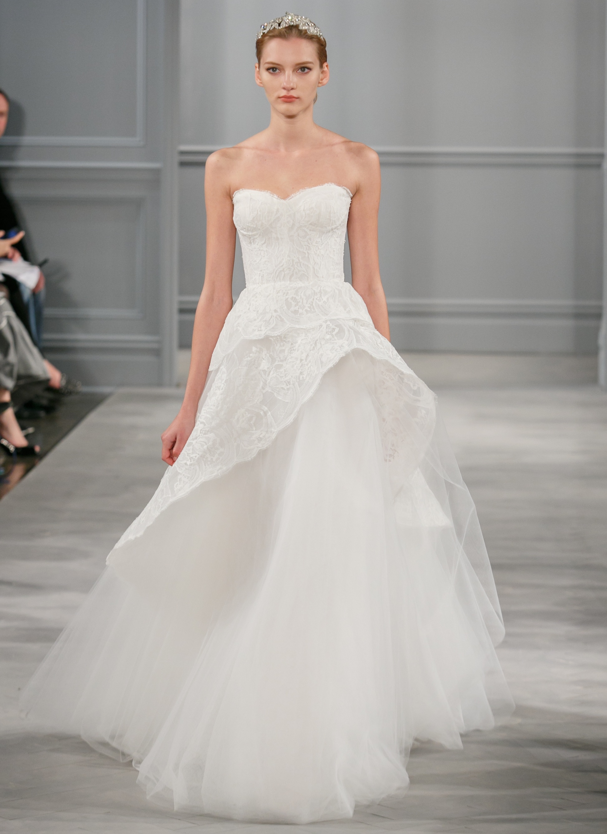Spring 2014 Wedding Dress Monique Lhuillier Bridal Azure 5