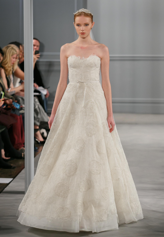 Spring 2014 wedding dress monique lhuillier bridal bloom for Buy monique lhuillier wedding dress