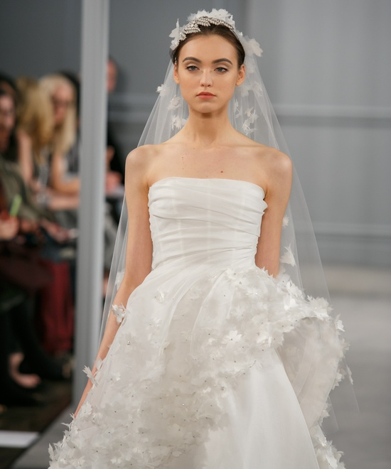 photo of Spring 2014 Wedding Dress Monique Lhuillier Bridal Pearl 3