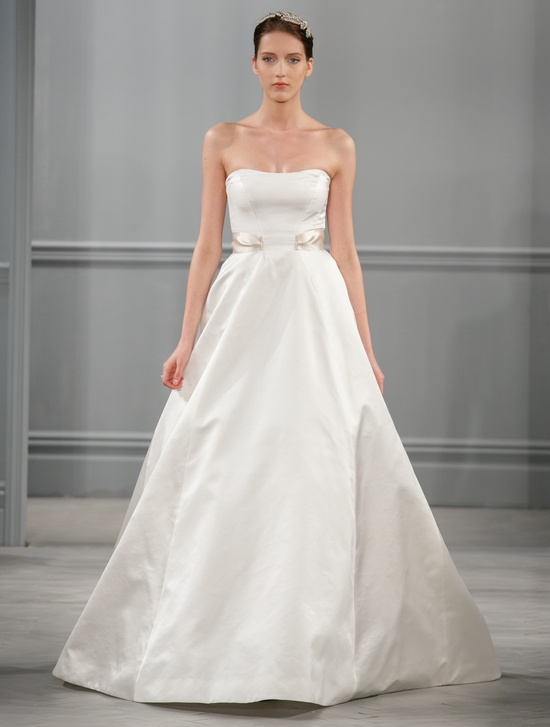 Spring 2014 Wedding Dress Monique Lhuillier Bridal Satine