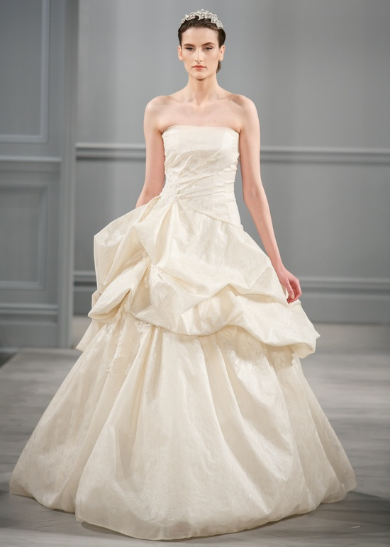 Spring 2014 Wedding Dress Monique Lhuillier Bridal Lucienne 2