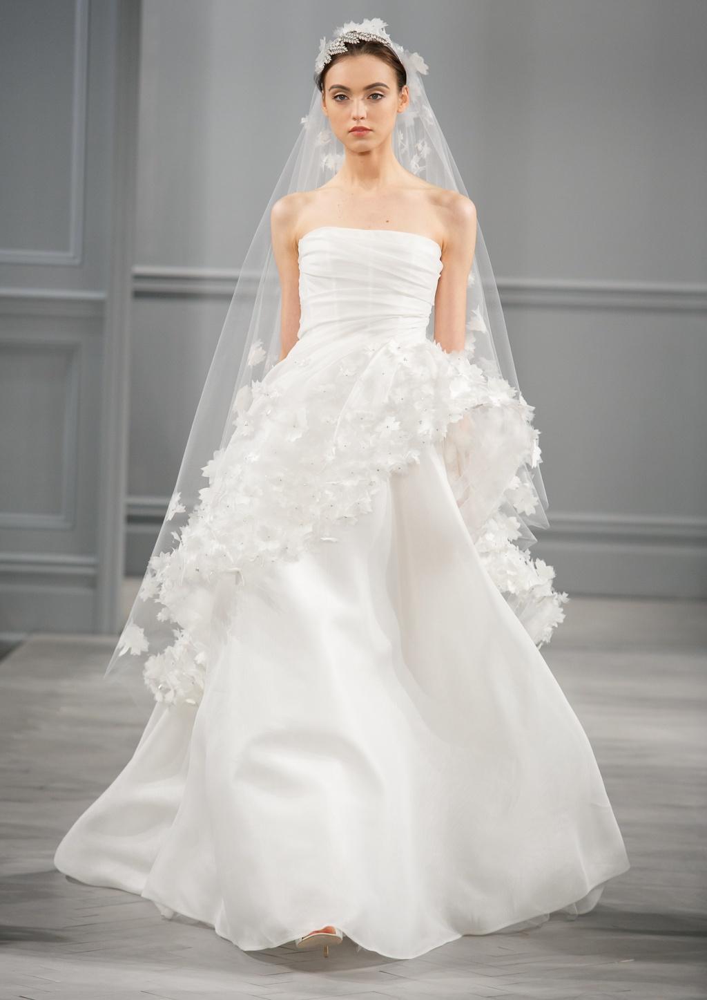 Spring 2014 wedding dress monique lhuillier bridal pearl 3 for Buy monique lhuillier wedding dress