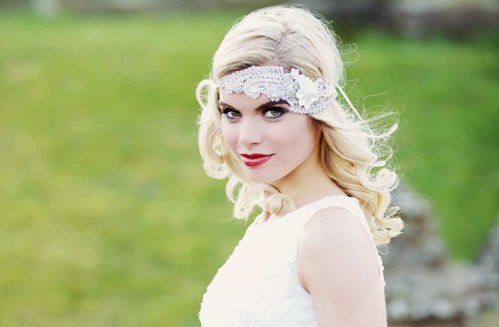 Tulle-beaded-wedding-head-wrap-vintage-inspired.full
